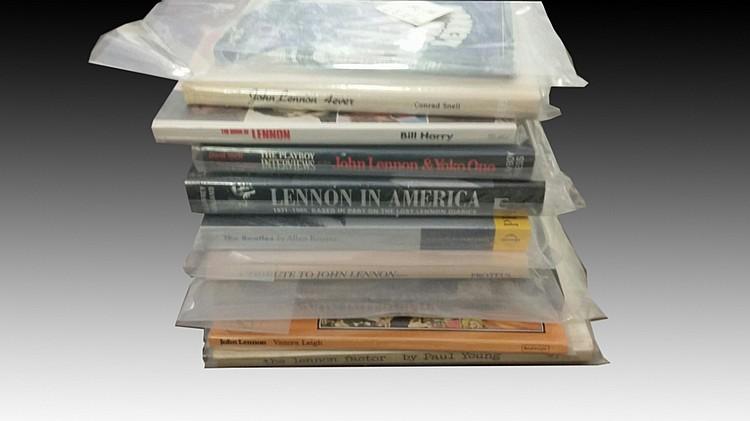 Lot of 10 Beatles Books