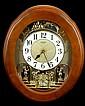 Rhythm Joyful Nostalgia Small World Musical Clock