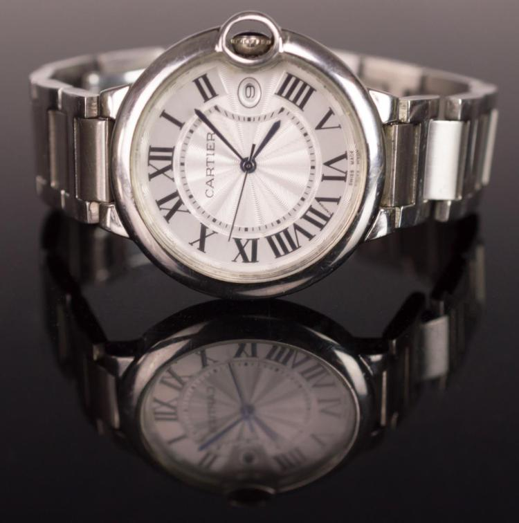 Cartier Ballon Bleu 3009 Stainless Steel Watch