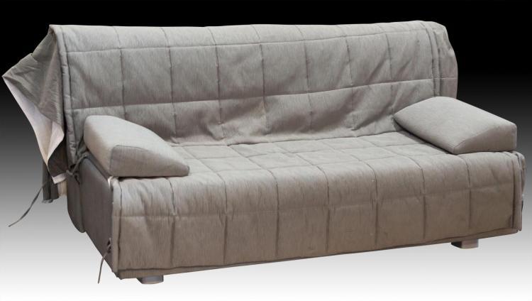 Dellarobbia Modern Contemporary Gray Sleeper Sofa