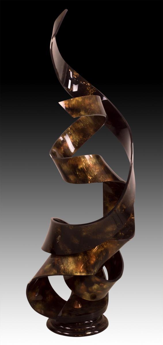 Haziza Custom Acrylic Art Sculpture, Signed