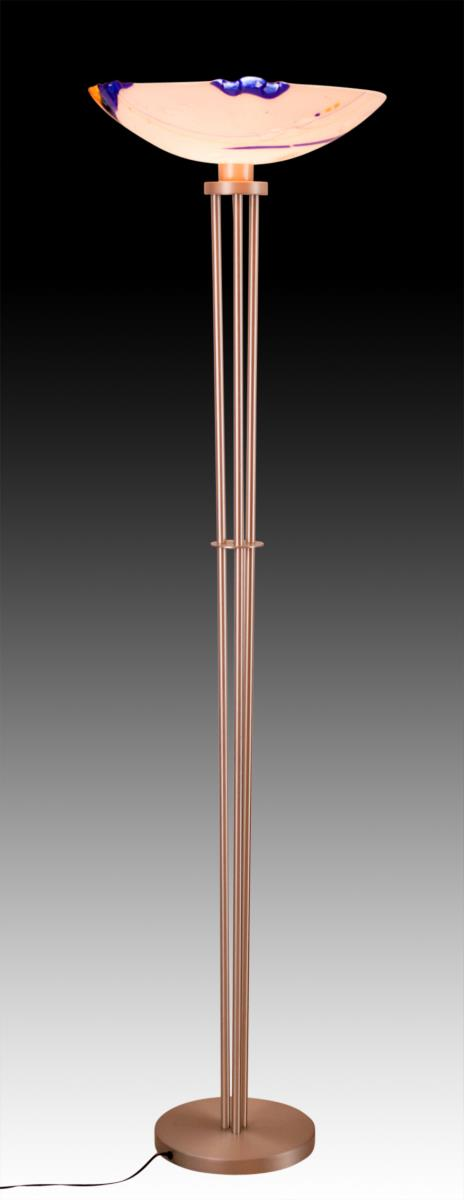 Designer Art Glass Floor Lamp
