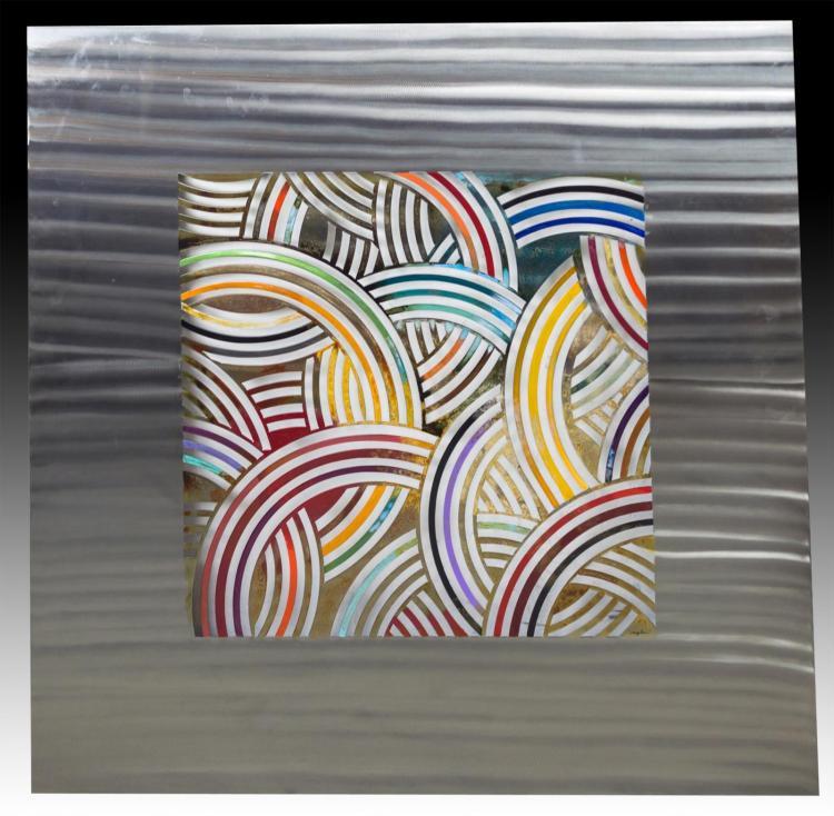 Designer Abstract Metal Wall Art