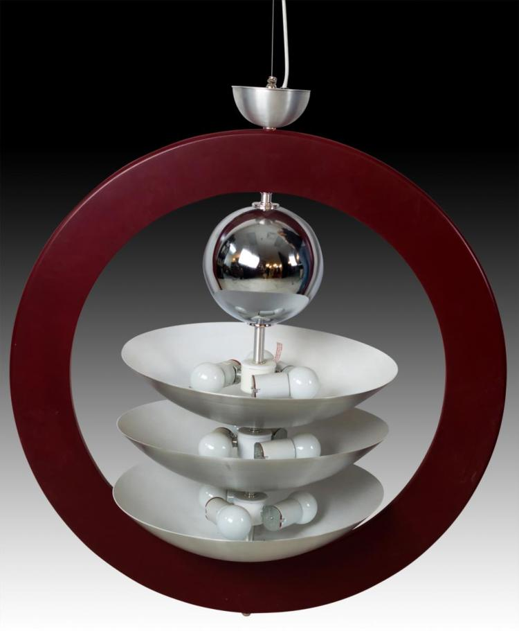 Art Deco Pendulum Light