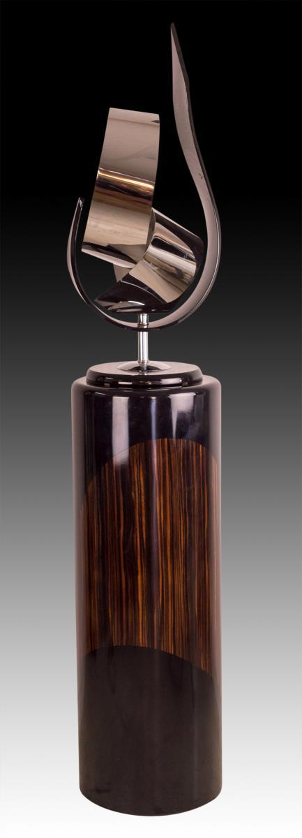 Haziza Custom Acrylic Art Sculpture w/ Display