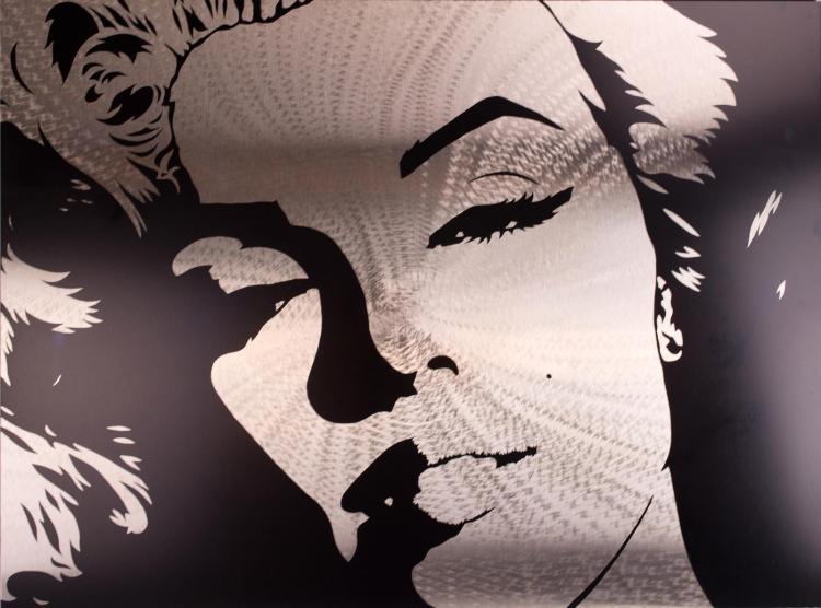 Carson Grier, Stainless Steel Art, Marilyn Monroe
