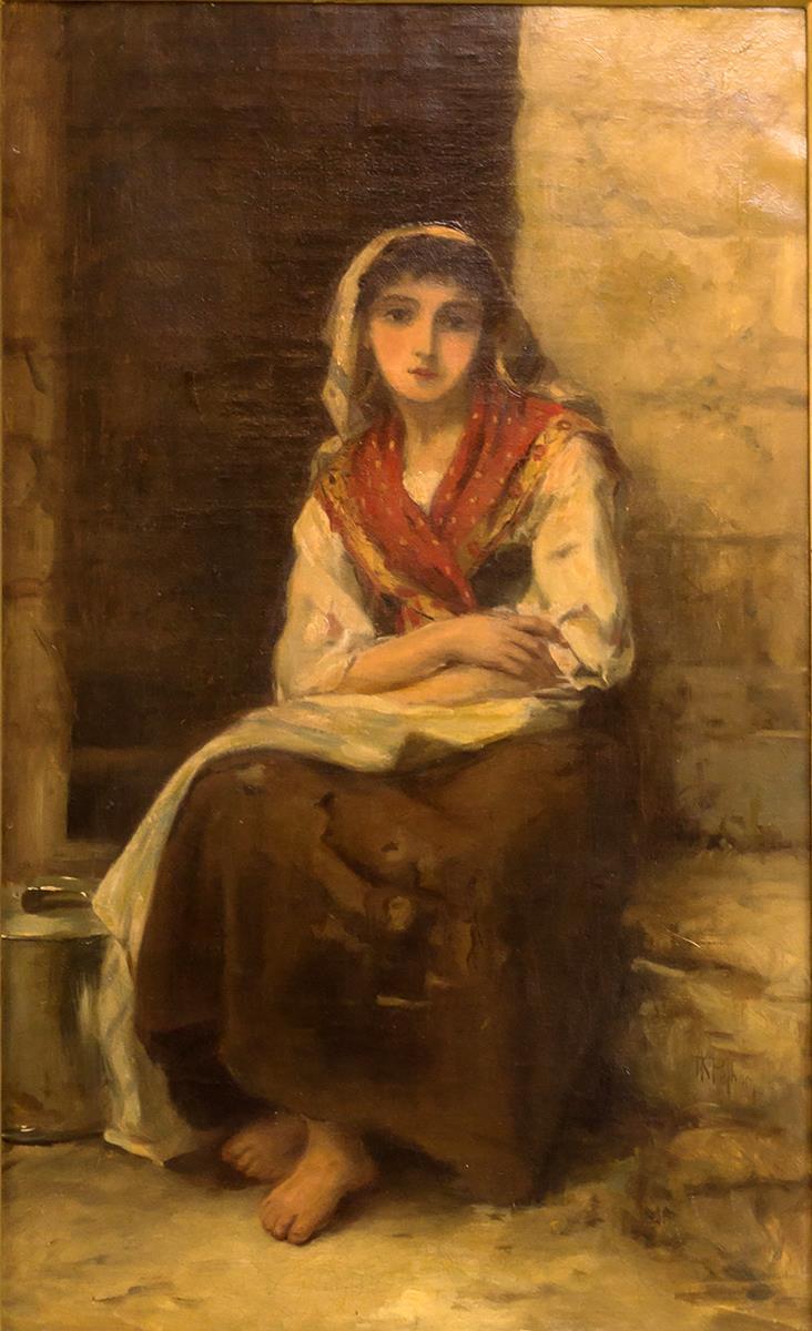 Thomas Kent Pelham Signed Oil Painting