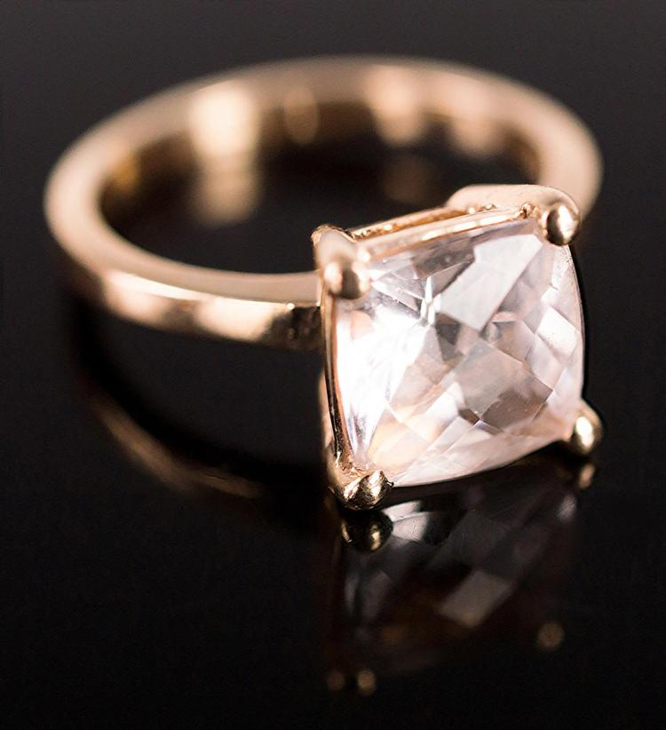 14K Rose Gold Ladies Ring