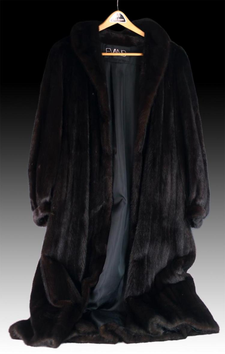 Evans Full Length Mink Coat