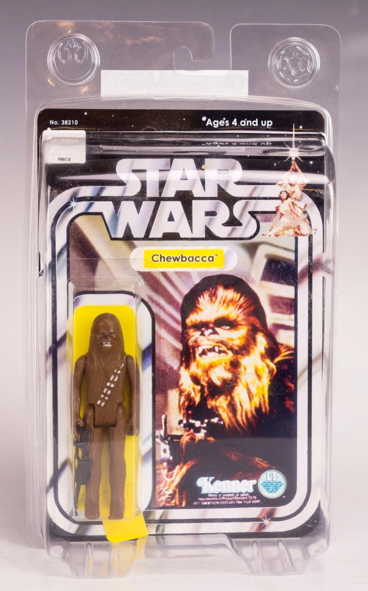 Kenner Star Wars Vintage 1977 Chewbacca, Carded
