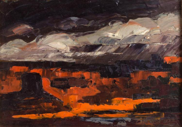 Alfred Nestler (1900-1970) Oil Painting