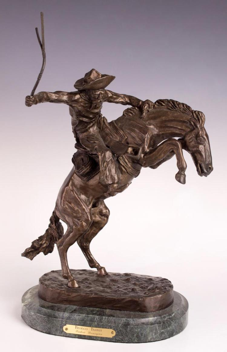Frederic Sackrider Remington (1861-1909) Bronze