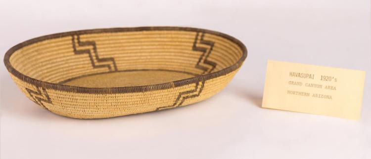 Native American Hand Made Havasupai Basket