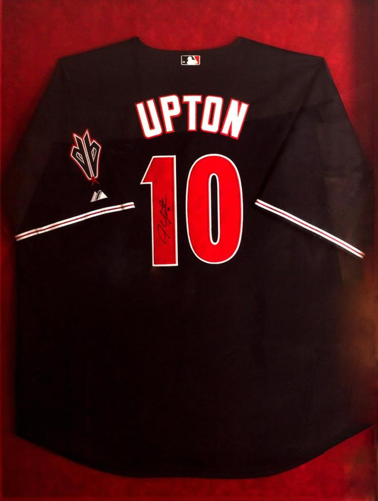 Justin Upton Signed Jersey