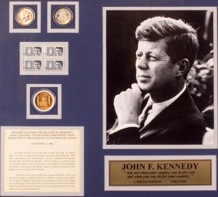 (1) John F. Kennedy Commemorative Collection