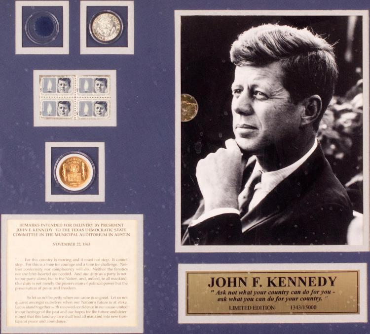 (2) John F. Kennedy Commemorative Collection