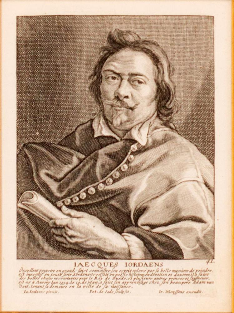 Jacob Jordaens Self Portrait