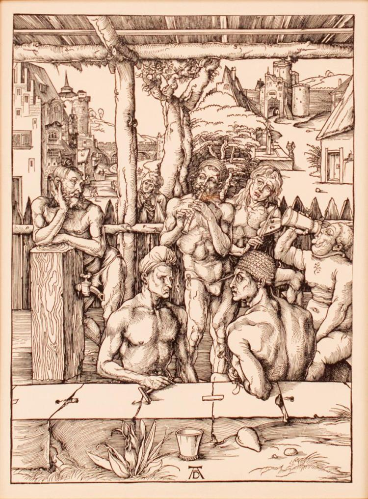 Albrecht Durer Woodcut Print
