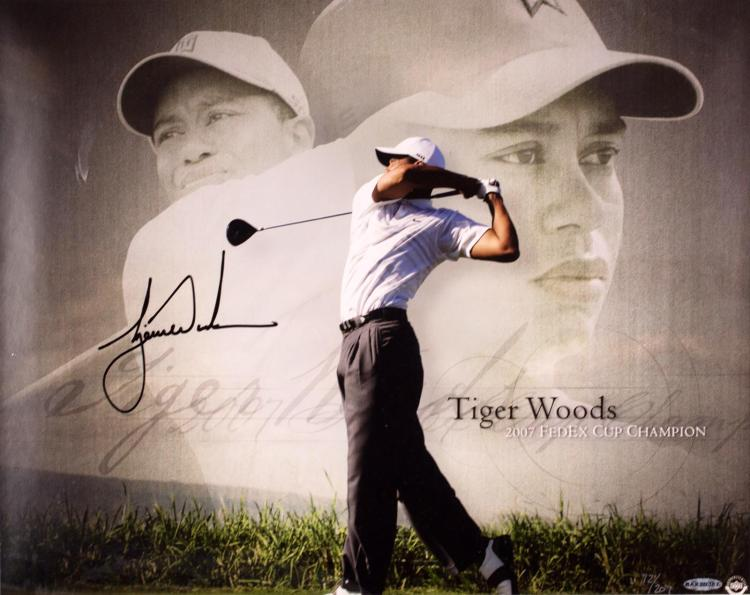Tiger Woods 2007 Fed Ex Cup Champion Photo