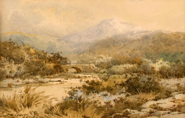 Noel H Leaver Original Watercolor