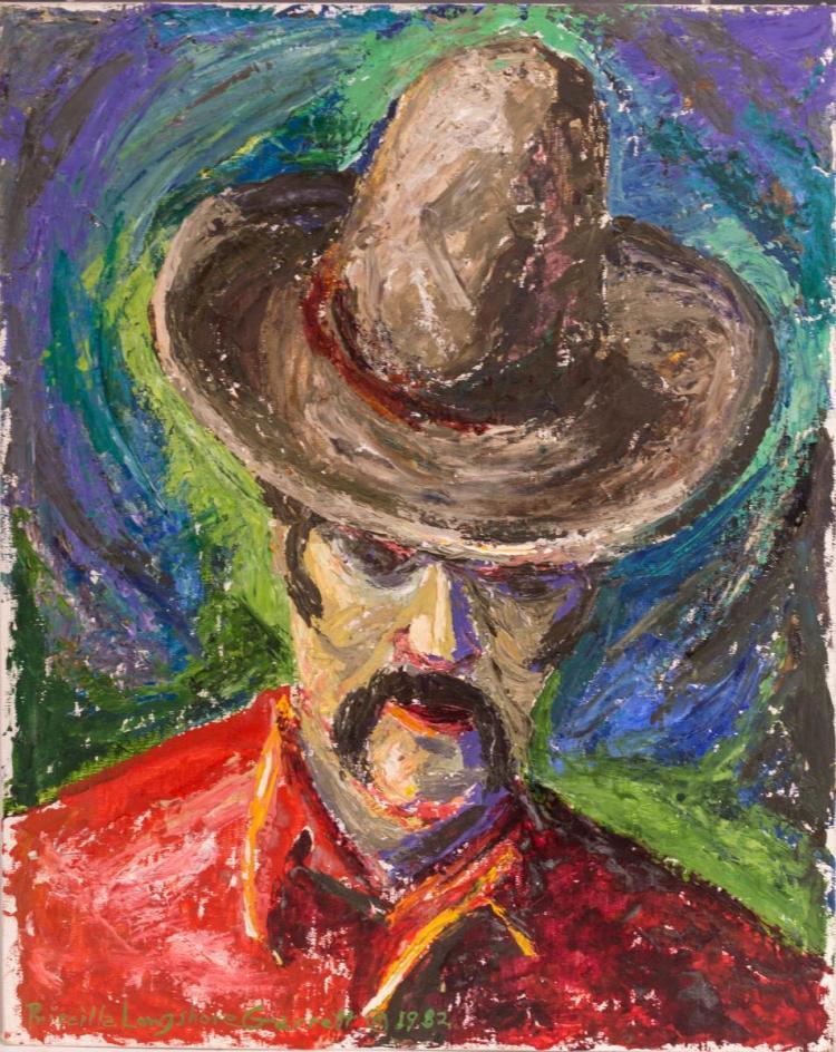 Priscilla Garrett (1907-1992) Oil Painting
