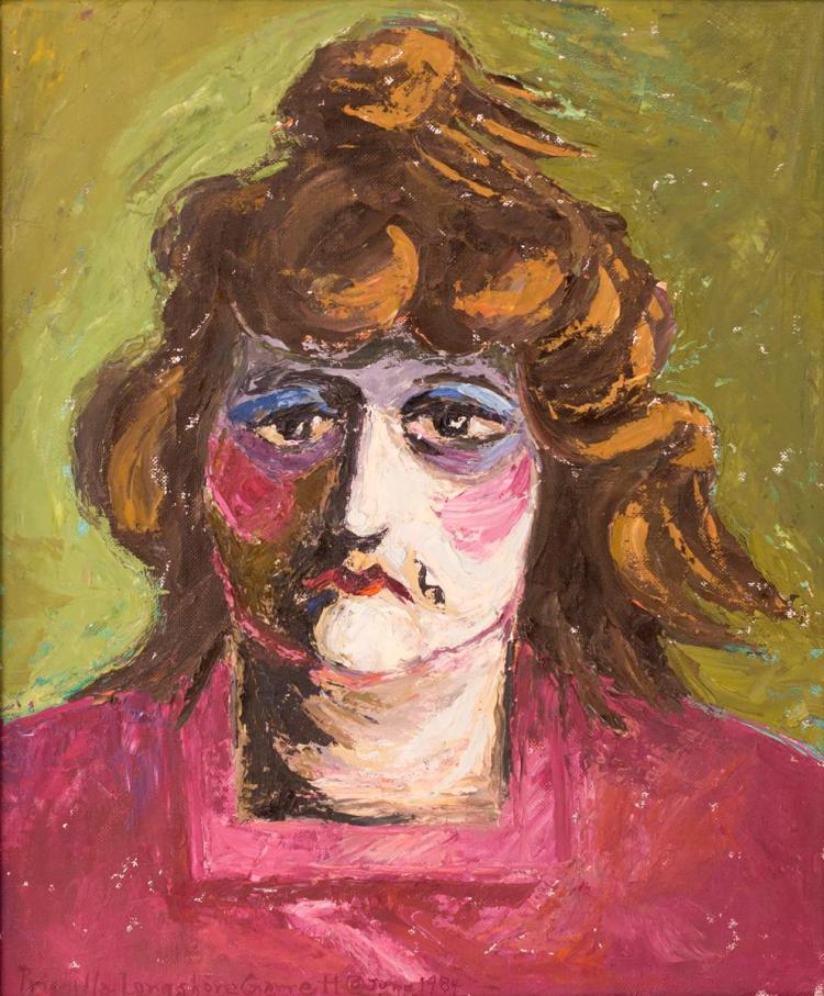 Priscilla Longshore Garrett (1907-1992) Painting