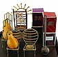 Lot of Scented Candles & Stands
