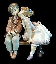 Lladro Porcelain #7635 - Ten And Growing