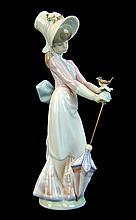 Lladro Porcelain #7618 - Garden Song