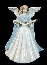 Lladro Porcelain #5719 - Angel Tree Topper #1