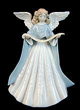 Lladro Porcelain #5719 - Angel Tree Topper #1