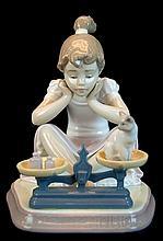 Lladro Porcelain #5474 - How You've Grown