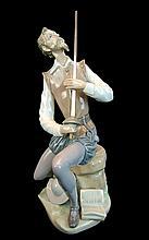 Lladro Porcelain #5357 - Oration (Don Quixote)