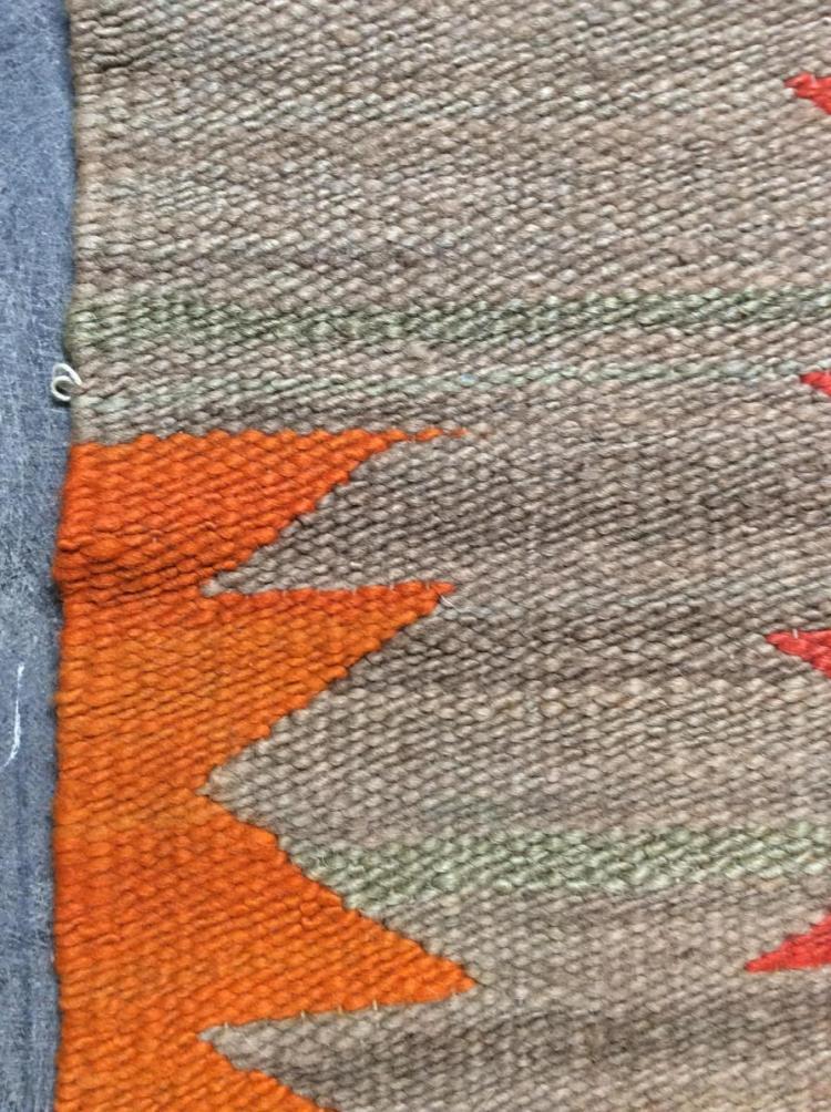Native American Navajo Hand Made Rug Lot 2