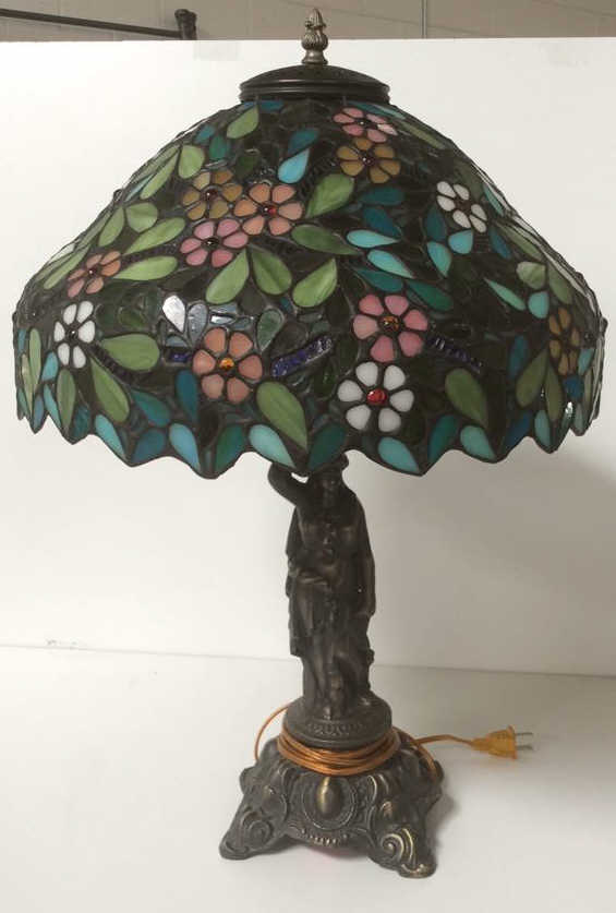 Dale Tiffany Ltd Ed Quot Apple Blossom Lamp Quot