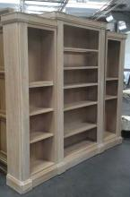 3Pc. Lighted Bookcase
