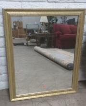 Traditional Gold Gilt Painted Mirror