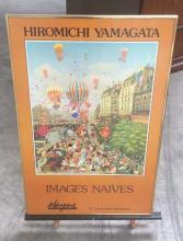 Hiromichi Yamagata Images Naives Signed Poster