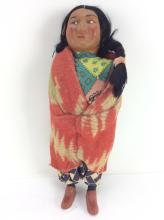 20th C. Skookum Native American Doll