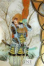 FINE Early Japanese Imari Samurai Bullion Set