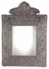 Spanish Colonial Peruvian Sterling Silver Frame