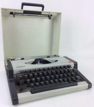 20th C. Olympia Traveler Typewriter