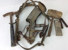 20th C. Rustic Metal Tool Collection