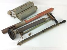 20th C. Rustic Air & Insecticide Pumps