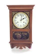 20th C. Welly Regulator 31 Day Wall Clock