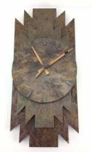 Signed Slate Rock Wall Clock