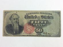 3Pc. United States Fractional Currency