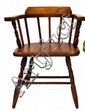 Vintage Wood captains chair