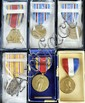 6 military medal, WWII, etc.