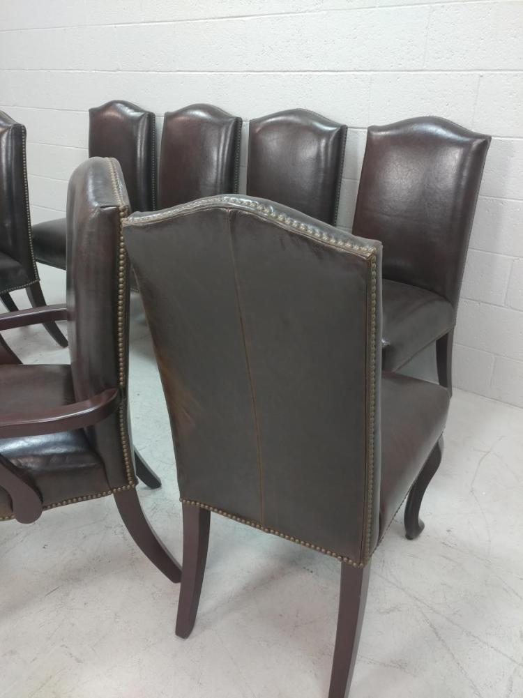 Strange 8 Pc Lazar Hobnail Vinyl Dining Chairs Creativecarmelina Interior Chair Design Creativecarmelinacom